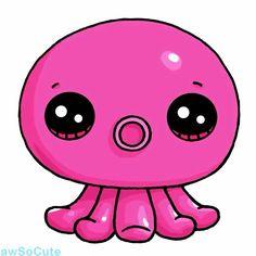Rainbow Octopus #4
