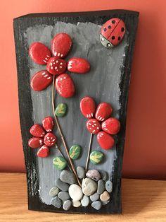 Stone pebble art
