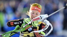 Laura Dahlmeier | Bildquelle: dpa Nerf, Baseball, Biathlon, History