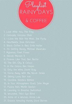 rainy day playlist via Project 22 Song Playlist, Playlist Ideas, Road Trip Playlist, Music Lyrics, Love Songs Lyrics, Music Songs, Music Film, Music Quotes, Rainy Day Movies