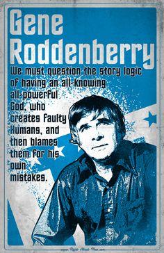 Atheist Solidarity Day: Gene Rossenberry