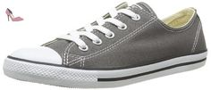 Converse As Dainty Ox, Baskets mode femme - Gris (Anthracite), 38 EU - Chaussures converse (*Partner-Link)