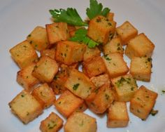 Liquid Gold Potatoes with Parsley and Garlic (ditch plain old canola oil for this awesome ingredient!)