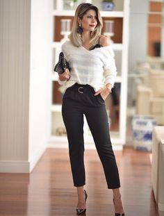 f2f24657933 35 maneiras de incluir a calça clochard em seu look