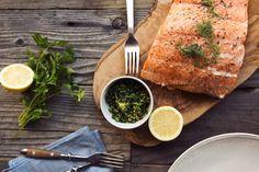 Beth Manos Brickey's Slow-Roasted Salmon with Meyer Lemon Gremolata Recipe   GFF Magazine
