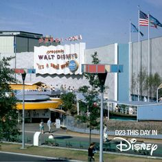 it's a small world entrance from 1964 Worlds Fair