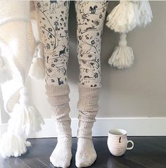 Sunday morning bliss. #anthropologie Anthropologie Instagram, Thermal Leggings, Home Outfit, Warm And Cozy, Cozy Winter, Autumn Winter Fashion, Autumn Style, Winter Style, Lounge Wear