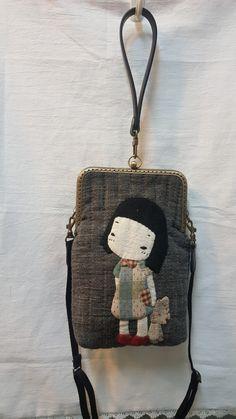 귀요미 고미 : 네이버 블로그 Diy Bags Patterns, Applique Patterns, Applique Quilts, Embroidery Applique, Patchwork Bags, Quilted Bag, Japanese Bag, Fabric Wallet, Frame Purse