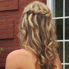 Waterfall braid