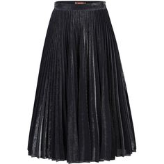 Jolie Moi Metallic Pleated A-Line Skirt , Black ($97) ❤ liked on Polyvore featuring skirts, black, pleated skirt, mesh midi skirt, mid calf skirts, pleated midi skirt and mesh skirt