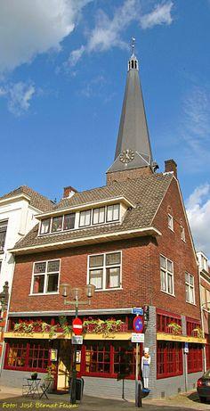 Nieuwstad en toren van St.Jankerk Zutphen