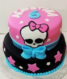 tortas de monster high para cumpleaños de crema - Buscar con Google
