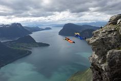 Norway - base jump