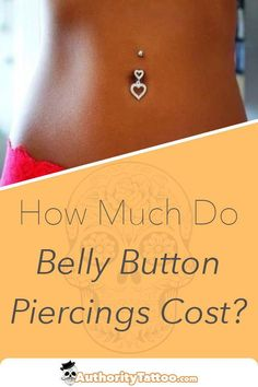 Do you really want a belly button piercing but have no idea how much it's going to cost? We explain all you need to know about belly piercing pricing. Bellybutton Piercings, Navel Piercing, Body Piercings, Belly Button Piercing Price, Belly Rings, Belly Button Rings, Quotes For Your Girlfriend, Be Yourself Quotes, Make It Yourself