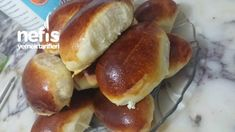 Başka Tarif Aratmayan Poğaça - Nefis Yemek Tarifleri Snack Recipes, Cooking Recipes, Snacks, Pain, Bon Appetit, Hot Dog Buns, Brunch, Food And Drink, Tasty