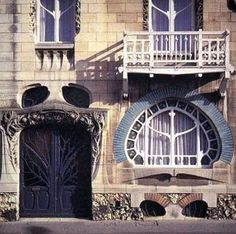 Villa Majorelle, Henri Sauvage, Nancy Plus Architecture Art Nouveau, Beautiful Architecture, Beautiful Buildings, Architecture Details, House Architecture, Henri Sauvage, Bg Design, Art Français, Cool Doors