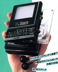 Sharp - TV & Cassette - 80s