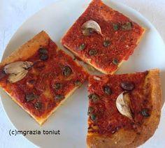 viaggi e ricette: MIA RICETTA  : PIZZA SARDENAIRA