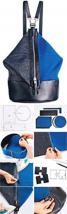 Risultati immagini per mochila bag schemi
