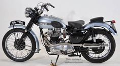 1956 Triumph Trophy, the off-road version with high pipe running along left side * Indian Motorcycles, Triumph Motorcycles, Triumph Cafe Racer, Triumph Scrambler, British Motorcycles, Vintage Motorcycles, Mv Agusta, Ducati, Bobber