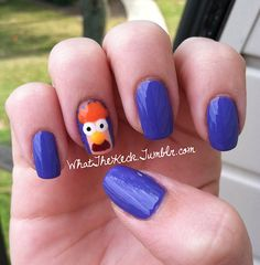The Muppets' Beaker nails!