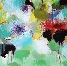 Saatchi Online Artist: Cristina B; Acrylic, 2012, Painting Spring juice