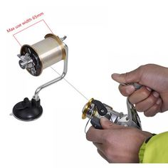 Cheap line winder reel, Buy Quality line winder directly from China reel spool Suppliers: Portable Aluminum Fishing Line Winder Reel Spool Spooler System Tackle Tool Suction Cup Sea Carp Fishing Tools and Accessories