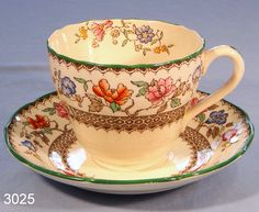 mexican design tea cups and saucers   ... china tea cup and saucer pattern no 2 9253 lovely tea cup and saucer