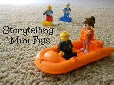 Fun! Storytelling with Lego MiniFigures.(Great tips for storytelling)