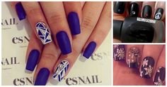 Spice up your look with an accent nail 😍