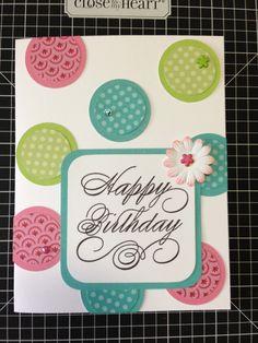 CTMH - Birthday card