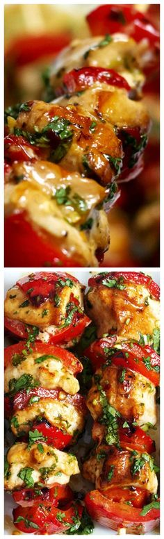 Grilled Honey Chili Lime Cilantro Chicken ~ Chicken breasts seasoned in salty, sweet, sour, and spicy marinade (made with Cilantro,lemon juice, honey and Chili) are grilled to a tender finish... Easy to make and great on salads, with rice, or in burritos and wraps!