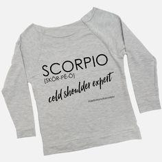 Definition of a Scorpio - Women's Raw Edge Raglan Shirt