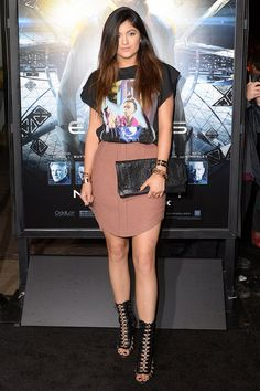 Kylie Jenner at the Enders Game premiere