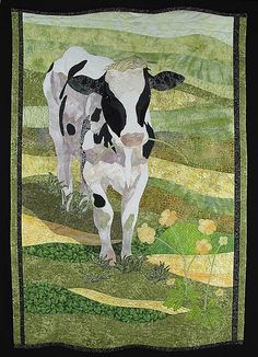 A cow quilt..YES!