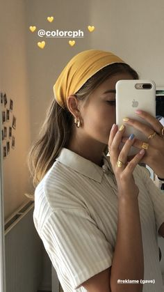 Typesofhairstyles babyhairaccessories dr geovanny gorczany phd typesofhair how to be aesthetic hair Aesthetic Hair, Aesthetic Clothes, Fitness Aesthetic, Aesthetic Rings, Hair Scarf Styles, Curly Hair Styles, Scarf Hairstyles, Bandana Hairstyles Short, Celebrity Hairstyles