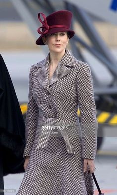 29 MARCH 2006---State Visit To Denmark Of The President Of The Republic Of Bulgaria H.E Georgi Parvanov.Arrival & Welcome Ceremony At The Airport With Queen Margrethe, Prince Henrik, Crown Prince Frederik & Crown Princess Mary.
