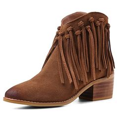 YOUDIFU Womens Sound Ankle Booties 65 Brown -- To view further for this item, visit the image link.