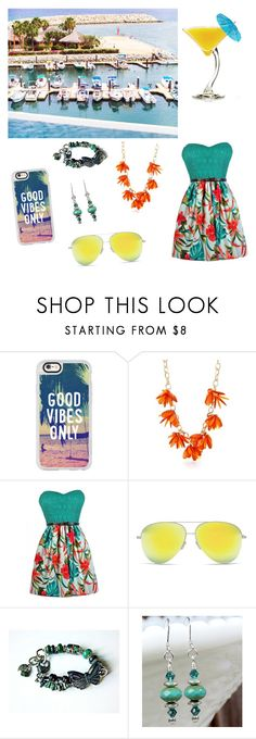 """""""Fashion #791"""" by devilvearsprada ❤ liked on Polyvore featuring TIKI, Casetify, New Directions and Victoria Beckham"""
