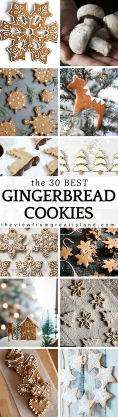 What to Bake Now: Gingerbread Cookies here are the 30 best gingerbread cookie recipes to get you started. What to Bake Now: Gingerbread Cookies here are the 30 best gingerbread cookie recipes to get you started. Chocolate Marshmallow Cookies, Chocolate Chip Shortbread Cookies, Toffee Cookies, Spice Cookies, Cut Out Cookies, Tea Cookies, Sugar Cookies, Ginger Bread Cookies Recipe, Chip Cookie Recipe