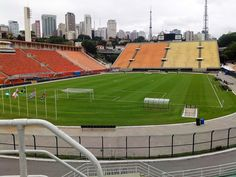 Estádio Municipal Paulo Machado de Carvalho - Pacaembú - São Paulo, SP