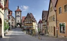 Walt Disney was so taken by the town of Rothenburg ob der Tauber, Germany, that he used it as inspiration for the village in the movie Pinocchio. (Courtesy Berthold Werner/Wikimedia Commons) From: 10 Coolest Small Towns in Europe. Amazing Places On Earth, Places Around The World, Wonderful Places, Beautiful Places, Amazing Things, Amazing People, Beautiful People, Beautiful Streets, Peaceful Places
