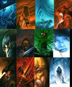A Game of Thrones covers . ASOIAF by krukof2.deviantart.com