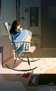 Today is just for you and me, handsome - by Pascal Campion.