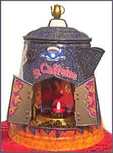 Household Shrine to St Caffina??? LMAO! PEFECT.