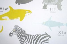 11 great picks for ABC artwork in your nursery via @babycenter #nursery #baby