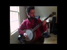 old spinning wheel on banjo