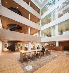 Interieurontwerp van Hofman Dujardin - alle projecten - projecten - de Architect