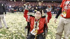 Watch: Ohio State football fan with muscular dystrophy scores touchdown in spring game  NCAA.com