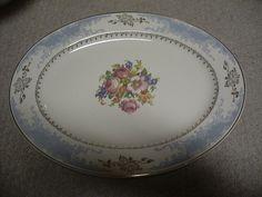 Royal Splendor Homer Laughlin Oval Platter